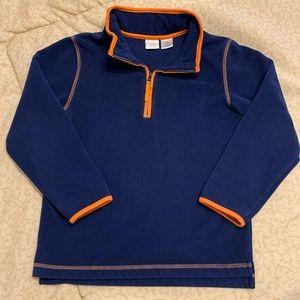 Talbots Kids 1/4 Zip Pullover - size 7X